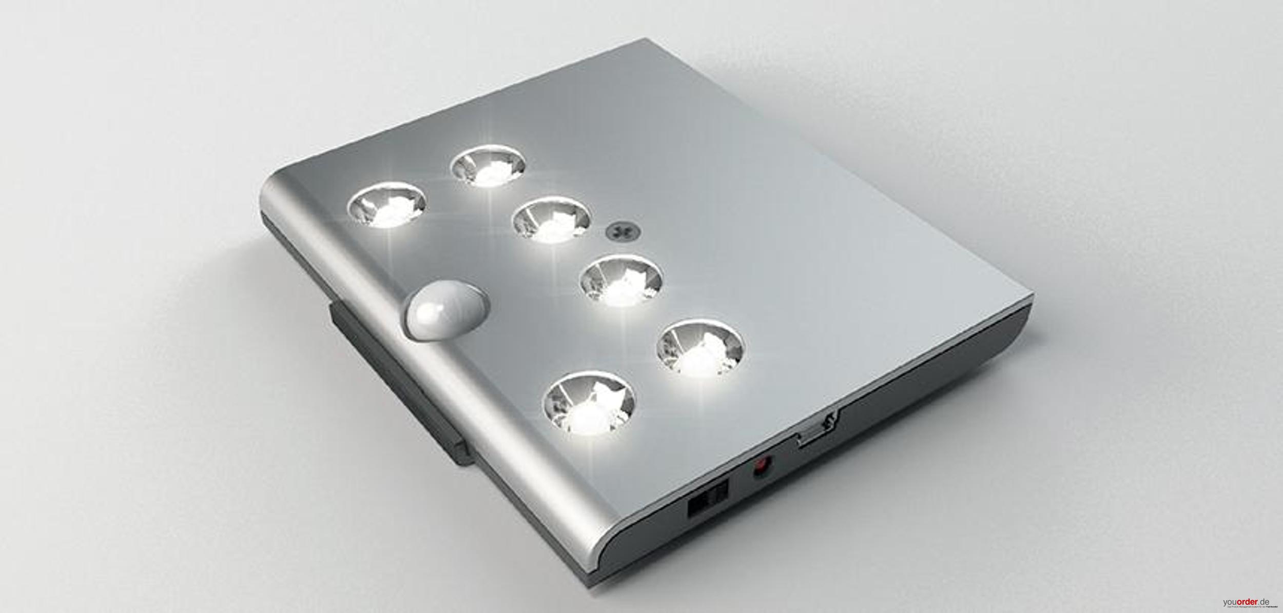 LED Leuchte Reload Mit Akku Und Bewegungsmelder