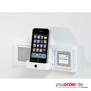 lautsprecher passend zu berker radio touch s1 polarweiss. Black Bedroom Furniture Sets. Home Design Ideas
