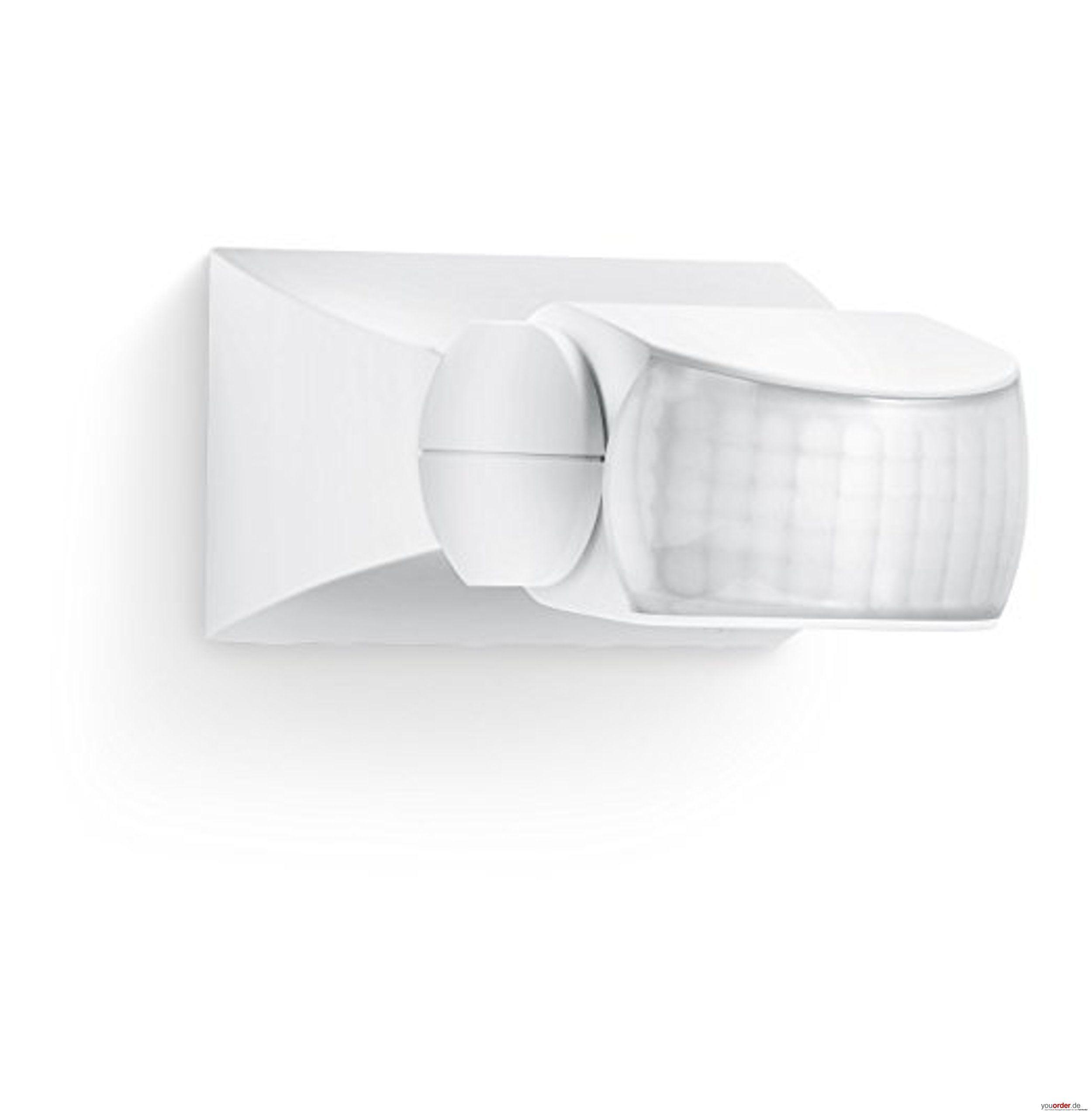 bewegungsmelder wei f r innen und au en 120 bewegungsmelder 10 m reichweite auf und. Black Bedroom Furniture Sets. Home Design Ideas