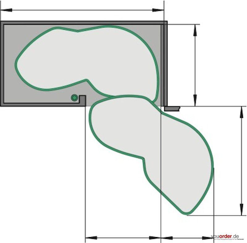 kesseb hmer lemans eckschrank schwenkauszug 50er t rbreite youorder der partner zwischen. Black Bedroom Furniture Sets. Home Design Ideas