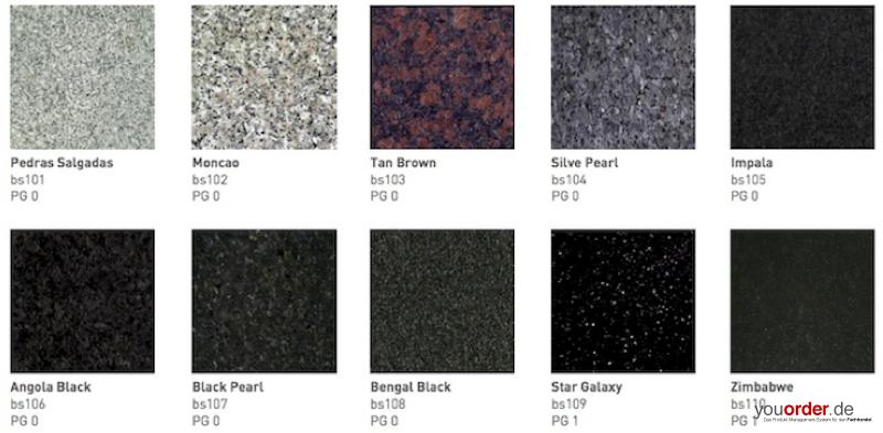 Durchgangsbohrung granit youorder der partner zwischen for Granitstein arbeitsplatten