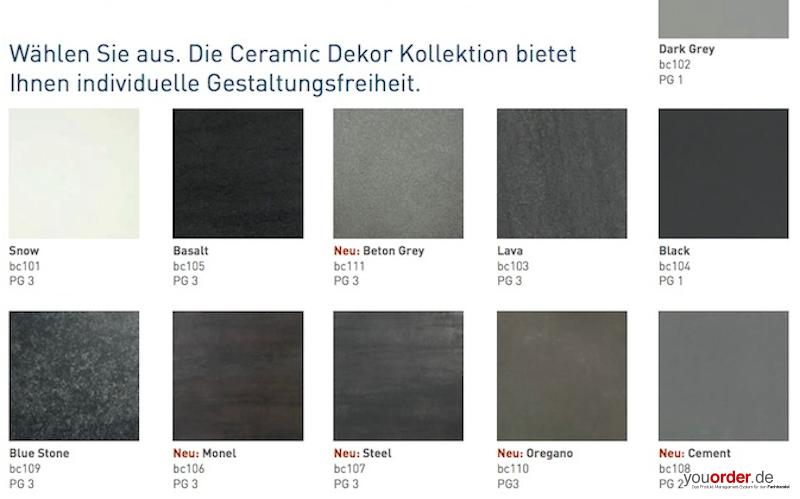 zus tzliche bearbeitung keramik youorder der partner zwischen hersteller und fachhandel f r. Black Bedroom Furniture Sets. Home Design Ideas