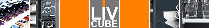 LivCube Logo und Detailfotos